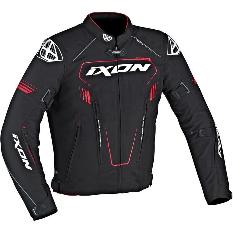 Ixon Zephyr HP Motorcycle Jacket 3XL Black Red