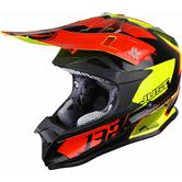 Just1 J32 Pro Kick Motocross Helmet L Black Red Yellow