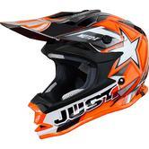 Just1 J32 Pro Moto-X Youth Motocross Helmet S Orange