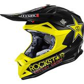 Just1 J32 Pro Rockstar Youth Motocross Helmet M Black Yellow