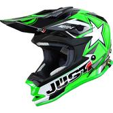 Just1 J32 Pro Moto X Junior Motocross Helmet YM Green