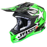 Just1 J32 Pro Moto X Motocross Helmet L Green