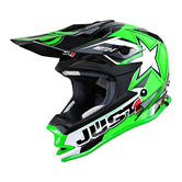 JUST1 J32 Pro Moto X Youth Motocross Helmet YL Green