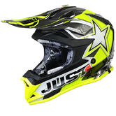 JUST1 J32 Pro Moto X Motocross Helmet XS Yellow