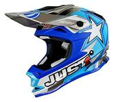 JUST1 J32 Pro Moto X Youth Motocross Helmet XS Blue