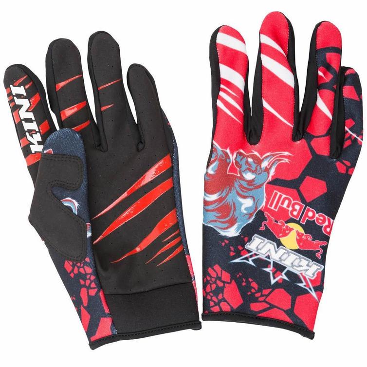 Kini Red Bull Revolution Motocross Gloves XL Red