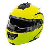 Lampa LA-1 Flip-Up Motorcycle Helmet L Fluo Yellow