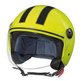 Lampa LD-1 Demijet Open-Face Helmet XS Fluo Yellow