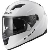 LS2 FF320 Stream Evo Solid Motorcycle Helmet XL White