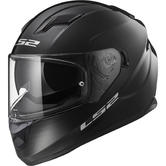 LS2 FF320 Stream Evo Solid Motorcycle Helmet XS Black