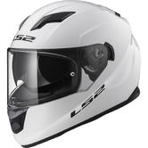 LS2 FF320 Stream Evo Solid Motorcycle Helmet XS White