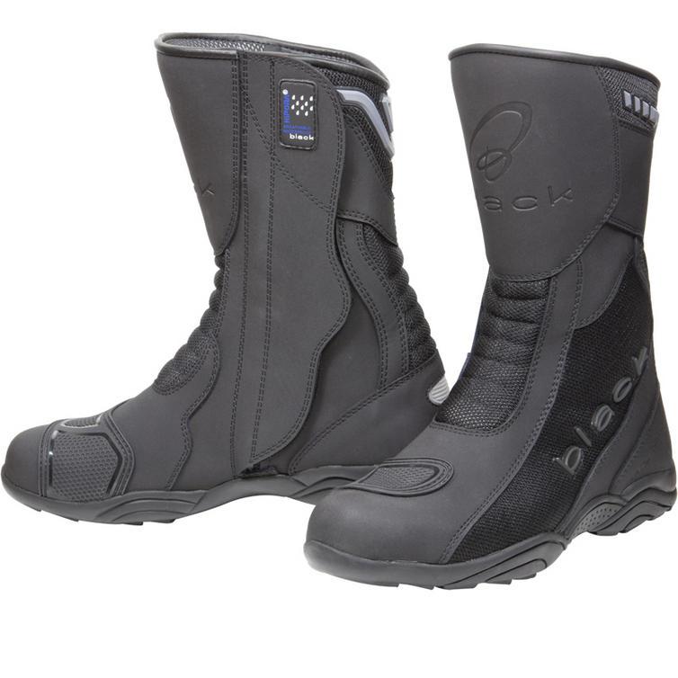 Black Oxygen Elite Motorcycle Boots