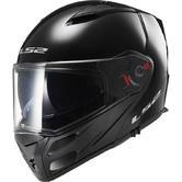 LS2 FF324.1 Metro Solid Flip Front Motorcycle Helmet S Black