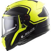 LS2 FF390 Breaker Bold Motorcycle Helmet XL Black H-V Yellow