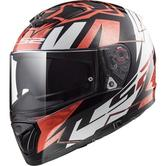LS2 FF390 Breaker Challenge Loris Baz Replica Motorcycle Helmet L White Black Red