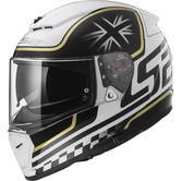 LS2 FF390 Breaker Classic Motorcycle Helmet XS White Black