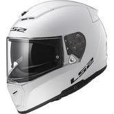 LS2 FF390 Breaker Solid Motorcycle Helmet S White