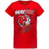 Marquez 93 MotoGP Kids T-Shirt 8/9 Red Ant