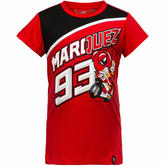 Marquez 93 MotoGP Kids T-Shirt 2/3 Red Ant