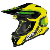 Nolan N 53 Lazy Boy Motocross Helmet XL Yellow