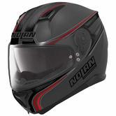 Nolan N87 Rapid Full Face Motorcycle Helmet M Matt Black