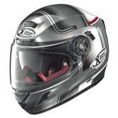 Nolan X-Lite X-702 GT Start Full Face Motorcycle Helmet M Grey
