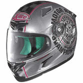Nolan X-Lite X-802RR Cafe Club Full Face Motorcycle Helmet L Grey