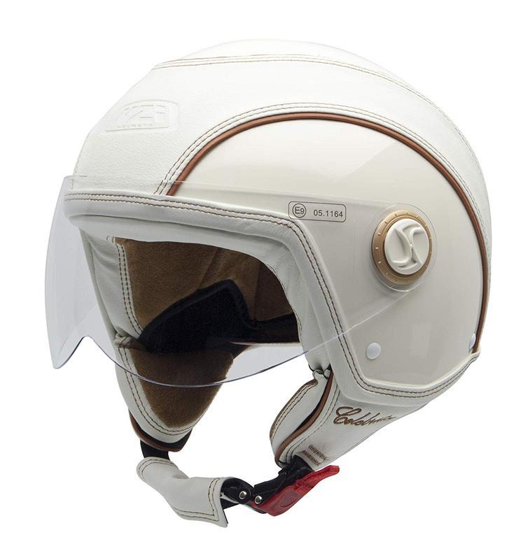NZI Celebrities Open Face Motorcycle Helmet XS (54cm) Cream
