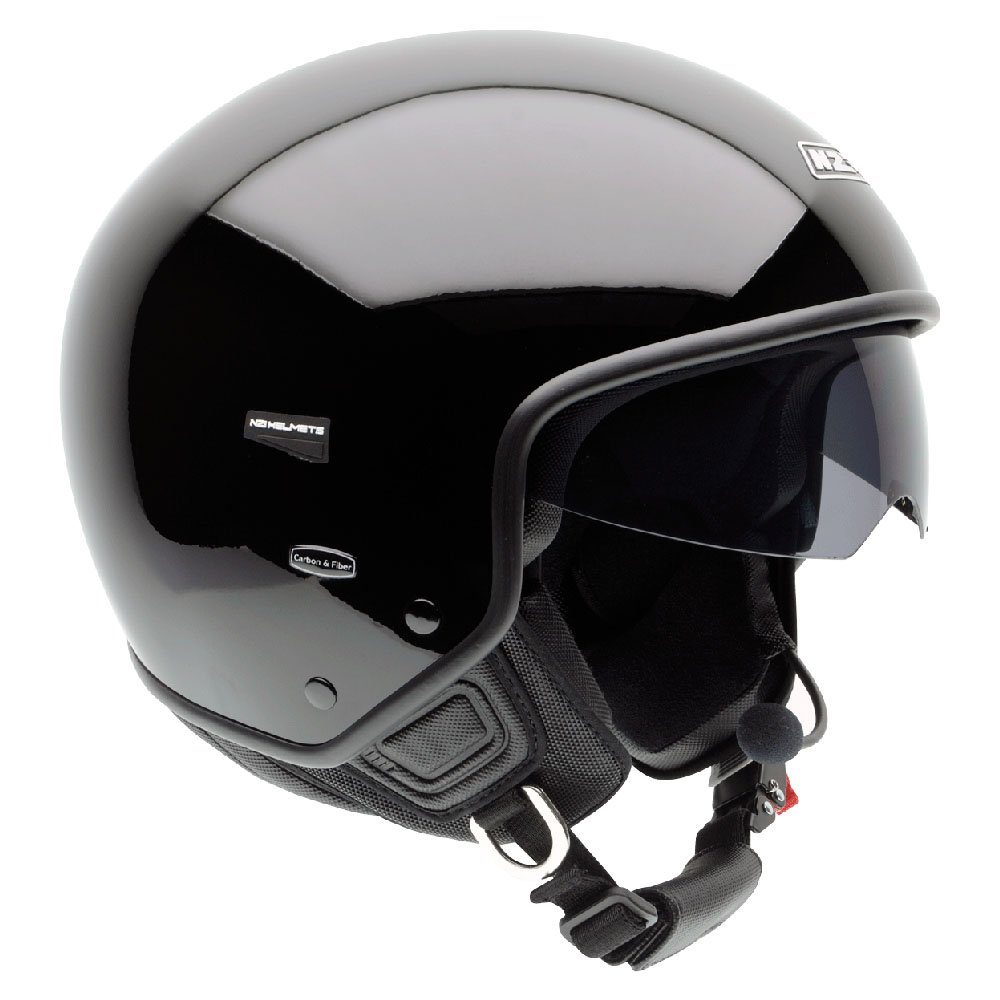 NZI Citycenter Solid Open Face Motorcycle Helmet XL (60
