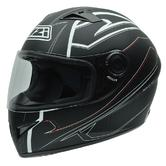NZI Vital Motorcycle Helmet XL (60-61cm) Black White