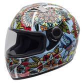 NZI Vital Printemps Motorcycle Helmet L (58-59cm) Blue Red Green