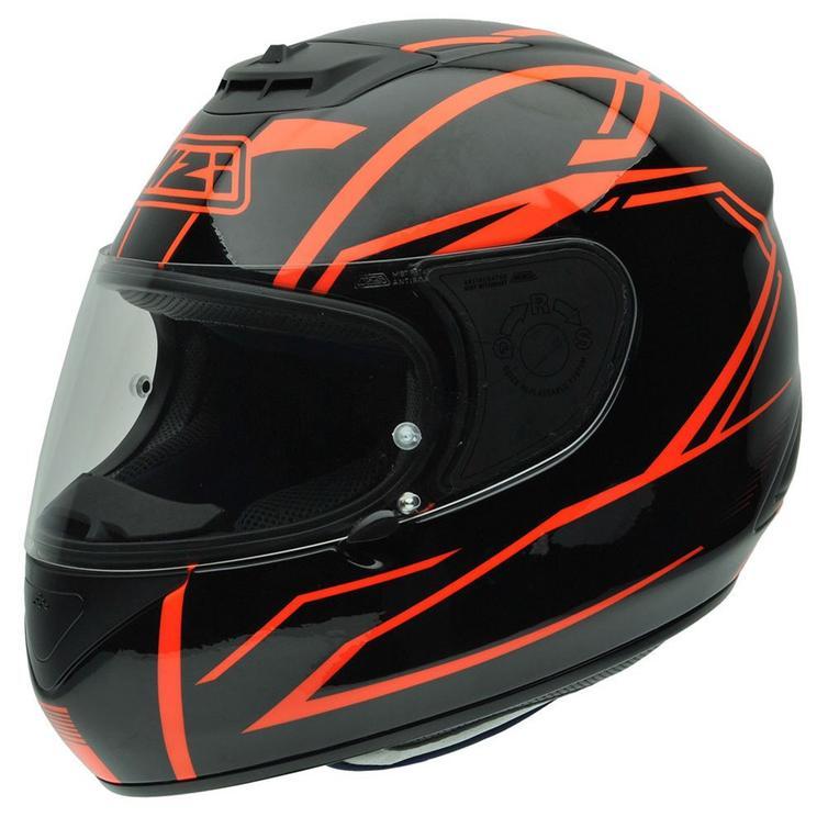 NZI Spyder V Outline Motorcycle Helmet S (55-56cm) Red Black