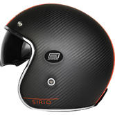 Origine Helmets Sirio Open-Face Motorcycle Helmet L Orange