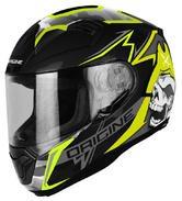 Origine Helmets ST Race Full-Face Motorcycle Helmet S Black Lime