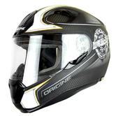 Origine Helmets ST Champion Full-Face Motorcycle Helmet S Grey Titanium