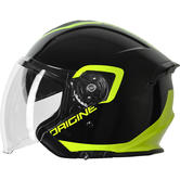 Origine Helmets Palio Demijet Open-Face Helmet XL Black Lime
