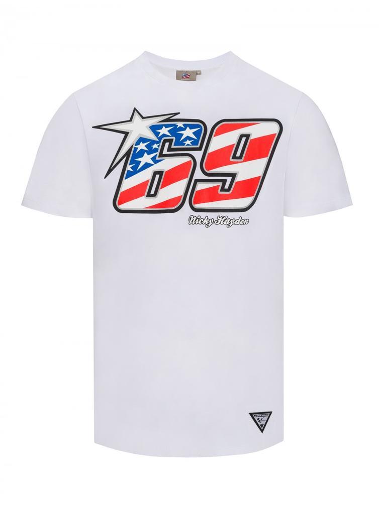 Pritelli Nicky Hayden 69 T-Shirt S White