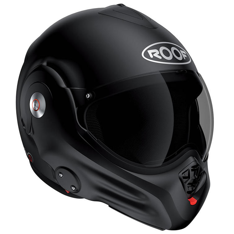 Roof Desmo RO32 Flip Front Motorcycle Helmet 2XL Matt Black