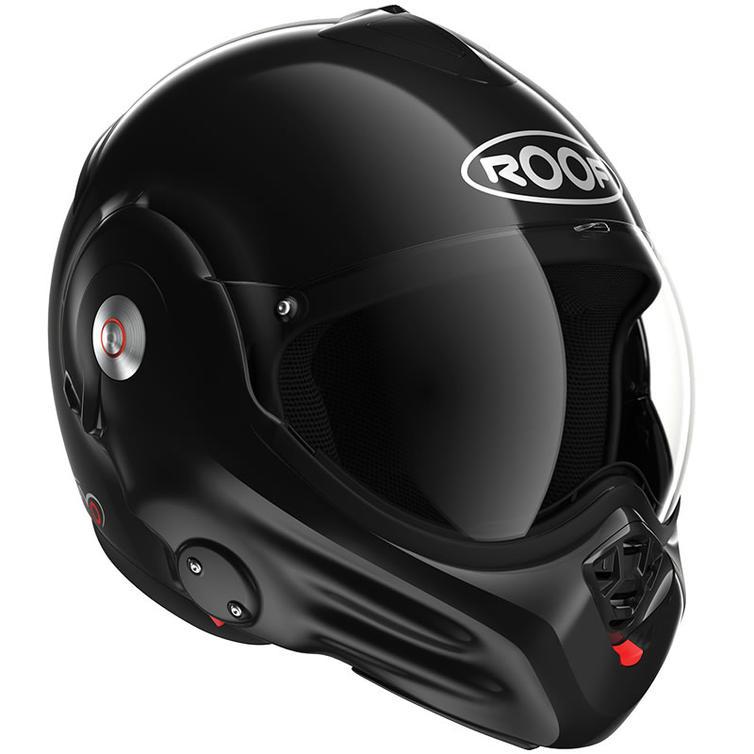 Roof Desmo RO32 Flip Front Motorcycle Helmet SM Black