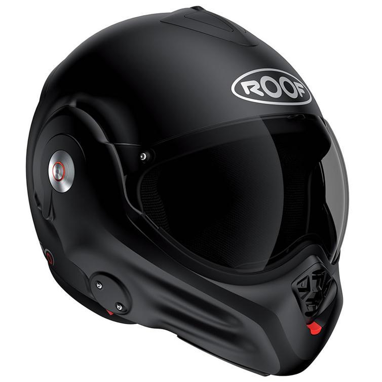 Roof Desmo RO32 Flip Front Motorcycle Helmet XL Matt Black