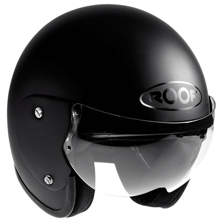 ROOF Roadster RO5 Open Face Motorcycle Helmet S Matt Black