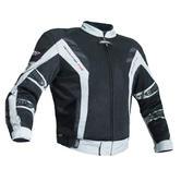 RST Pro Series 1702 Ventilator V Textile Motorcycle Jacket 48 Silver (2XL)