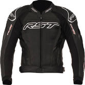 RST Tractech Evo II Leather Motorcycle Jacket 48 Black
