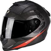 Scorpion Exo-1400 Air Picta Motorcycle Helmet S Black Orange