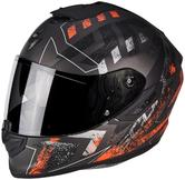 Scorpion Exo-1400 Air Picta Motorcycle Helmet XXL Black Orange