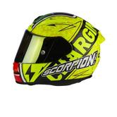 Scorpion Exo-2000 Evo Air Bautista III Replica Motorcycle Helmet L Yellow