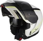 Scorpion Exo-3000 Air Stroll Flip Front Motorcycle Helmet XXL White Black Yellow