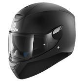 Shark D-Skwal Blank Mat Motorcycle Helmet L Matt Black