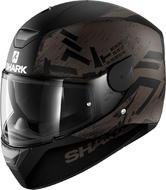 Shark D-Skwal Hiwo Mat Full-Face Motorcycle Helmet S Black (KAK)