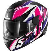 Shark D-Skwal Ujack Motorcycle Helmet S Black Pink